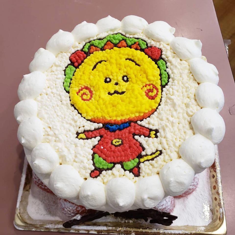 アートケーキ事例
